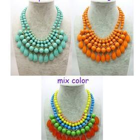 WIIPU fashion teardrop necklace jc necklace bib necklace